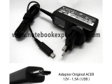 Adaptor Original ACER 12V - 1.5A ( USB )