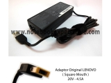 ADAPTOR LENOVO 45N0237 20V-4,5A SQUARE MOUTH