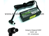 Adaptor Charger Laptop SONY 19.5V 2A Original