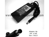 Adaptor Compatible HP 19V 4.74 jarum