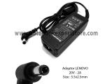 Adaptor Compatible Lenovo 20V 2A