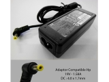 Adaptor Compatible HP 19V 1.58A colokan kecil