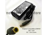 Adaptor Compatible Lenovo 20V 4.5A