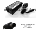Adaptor Compatible HP 18.5V 3.5A jarum