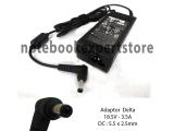 Adaptor DELTA 18.5v 3.5A Size : 5.5x2.5mm