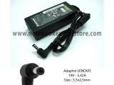 Adaptor LENOVO 19V - 3.42A, Size : 5.5x2.5mm