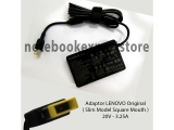 Adaptor Lenovo Original 20V - 3.25A Slim (square Mouth/usb)