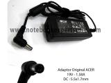Adaptor Original ACER 19V 1.58A
