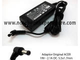 Adaptor Original ACER 19V 2.1A