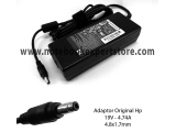 Adaptor Original HP 19v 4.74 STD