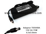 Adaptor Original Toshiba 15V 5A
