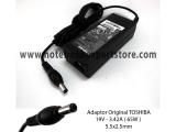 Adaptor Original Toshiba 19v 3.42a