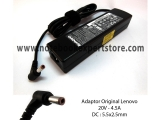 Adaptor Original Lenovo 20V - 4.5A DC : 5.5x2.5mm