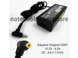 Adaptor Original SONY 10.5V - 4.3A DC : 4.8 x 1.7mm