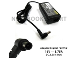 Adaptor Original FUJITSU 16V - 3.75A ( Dc. 6.5x4.4mm Jarum )