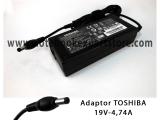Adaptor TOSHIBA 19V 4.74A Original