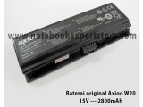 Baterai Original Axioo W20, W20-4S2800-S1S7, W20-4S5600-S1-S7