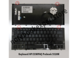 Keyboard HP/COMPAQ Probook 5520M With Frame ( Black )