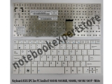 Keyboard ASUS EPC Eee PC SeaShell 1005HA 1005HAB, 1008HA - White