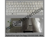 Keyboard Acer 532h d260 aspire one happy n55 white