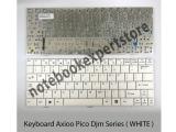 Keyboard Axioo Pico DJM white