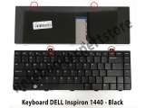 Keyboard DELL Inspiron 1440 - Black