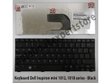 Keyboard Dell Inspiron mini 1012, 1018 series - Black