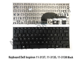 Keyboard Dell Inspiron 11-3137, 11-3135, 11-3138 Black