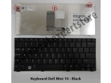 Keyboard Dell Mini 10, 10v, 1011 Series - Black