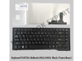 Keyboard FUJITSU LifeBook LH532 LH522 Black ( Frame Besar )