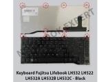 Keyboard Fujitsu Lifebook LH532 LH522 LH532A LH532B LH532C - Bla