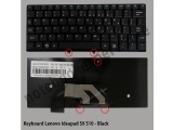 Keyboard Lenovo S10 black