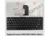 Keyboard Lenovo G460 G465 G465A ( Black )
