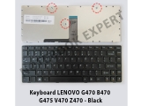 Keyboard Lenovo G470 B470 G475 V470 Z470 - Black