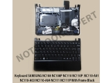 Keyboard SAMSUNG NC108 NC108P NC110 NC110P With Frame Black