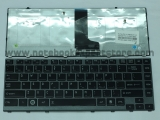 Keyboard TOSHIBA M640 M645 black series
