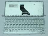 Keyboard Toshiba NB200 NB205 silver