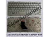Keyboard Toshiba NB300 NB305 siver