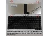 Keyboard Toshiba M200 A200 L510 A300 Black Dop