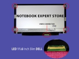 LED 11.6 Inch Slim DELL, BENQ, LENOVO