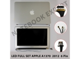 "LED FULL SET APPLE 11.6"" A1370 2012 6 Pin"