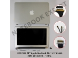 "LED FULL SET Apple MacBook Air 13.3"" A1466 2013 2014 2015 - 12 P"